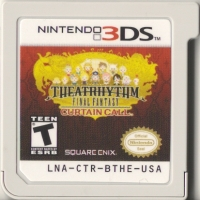 Theatrhythm Final Fantasy: Curtain Call - Limited Edition Box Art