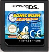Sonic Rush Adventure Box Art