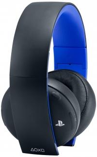 Sony PlayStation Gold Wireless Stereo Headset Box Art