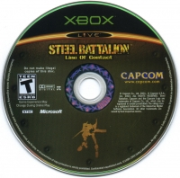 Steel Battalion: Line of Contact Box Art