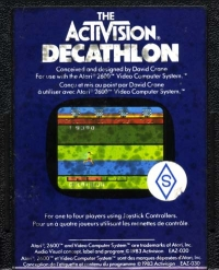 Activision Decathlon, The Box Art