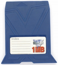 Blaze X 1MB Memory Card (Blue) Box Art