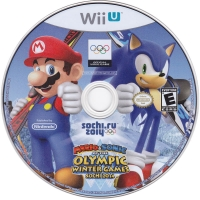 Mario & Sonic at the Sochi 2014 Olympic Winter Games Box Art