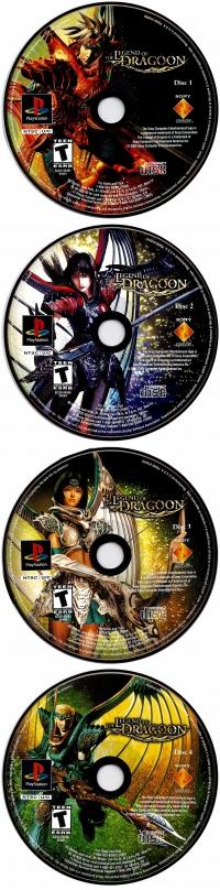 Legend of Dragoon, The Box Art