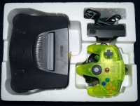 Nintendo 64 ToysRUs Limited Edition (Extreme Green Color Controller Inside) Box Art