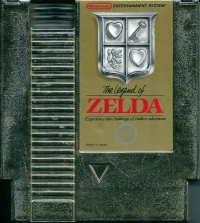 Legend of Zelda, The (3 screw cartridge) Box Art