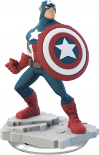 Captain America - Disney Infinity 2.0 Figure [NA] Box Art