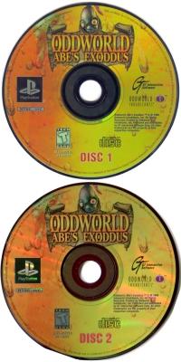 Oddworld: Abe's Exoddus Box Art