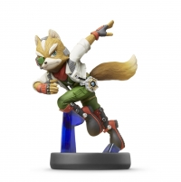 Fox - Super Smash Bros. (gray Nintendo logo) Box Art