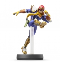 Captain Falcon - Super Smash Bros. (gray Nintendo logo) Box Art
