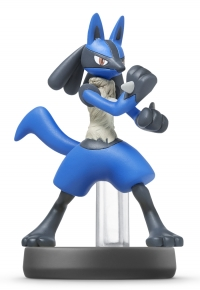 Lucario - Super Smash Bros. (gray Nintendo logo) Box Art