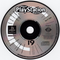 Official U.S. PlayStation Magazine Demo Disc 19 Box Art