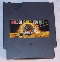 Golden Game: 150 in 1 Box Art