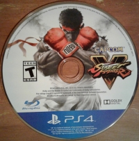 Street Fighter V Box Art