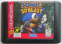 Sonic 3D Blast (1844) Box Art