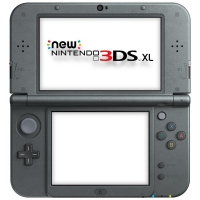 New Nintendo 3DS XL Metallic Black [EU] Box Art