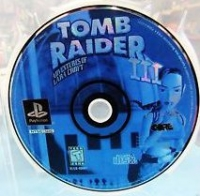 Tomb Raider III: Adventures of Lara Croft (blue disc) Box Art