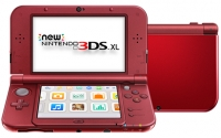 New Nintendo 3DS XL - New Red [NA] Box Art