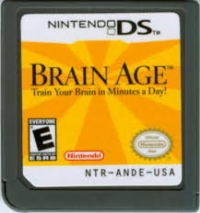 Brain Age: Train Your Brain in Minutes a Day! Box Art