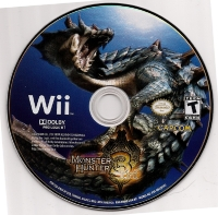 Monster Hunter Tri (Bonus Wii Classic Controller Pro Inside) Box Art