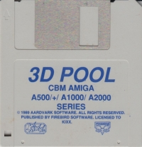 3D Pool - Kixx Box Art