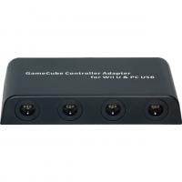 GAMECUBE CONTROLLER ADAPTER FOR WII U & PC USB Box Art