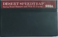 Desert Speedtrap Starring Road Runner and Wile E. Coyote Box Art