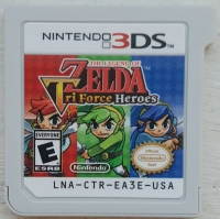 Legend of Zelda, The: Tri Force Heroes Box Art