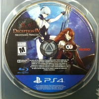Deception IV: The Nightmare Princess Box Art