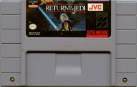 Super Star Wars: Return of the Jedi (JVC) Box Art