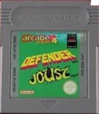 Arcade Classic No.4: Defender / Joust Box Art