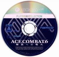 Ace Combat 6: Kaihou e no Senka - Platinum Collection Box Art