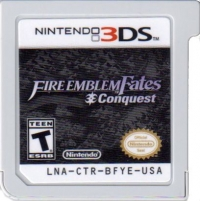 Fire Emblem Fates: Conquest Box Art