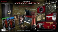 Metal Gear Solid V: The Phantom Pain - Collector's Edition Box Art