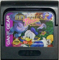 Deep Duck Trouble Starring Donald Duck (Majesco) Box Art