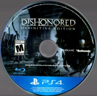 Dishonored: Definitive Edition Box Art