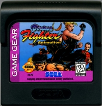 Virtua Fighter Animation Box Art