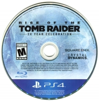 Rise of the Tomb Raider: 20 Year Celebration Box Art
