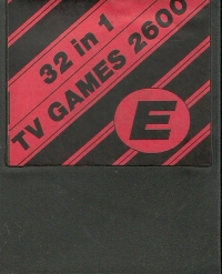 32 in 1 - TV Games 2600 E Box Art