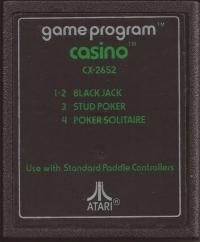 Casino (Text Label) Box Art