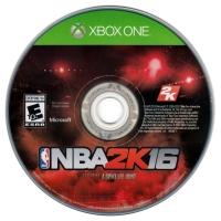 NBA 2K16 Box Art