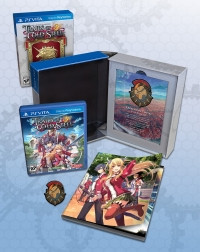 Legend of Heroes, The: Trails of Cold Steel - Lionheart Edition Box Art