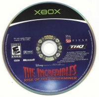 Incredibles, The: Rise of the Underminer Box Art