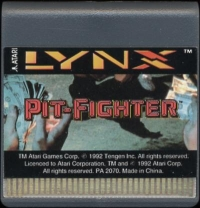 Pit-Fighter Box Art
