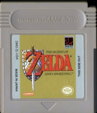 Legend of Zelda, The: Link's Awakening Box Art