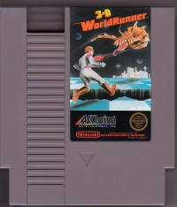 3-D WorldRunner (3 screw cartridge) Box Art