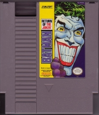 Batman: Return of the Joker Box Art