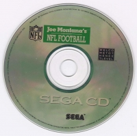 Joe Montana's NFL Football Box Art