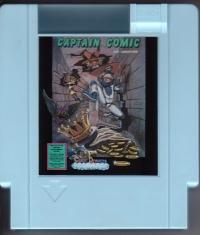 Captain Comic: The Adventure (blue cartridge) Box Art