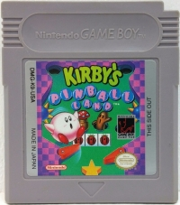 Kirby's Pinball Land Box Art